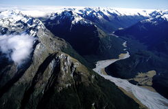alps New Zealand royaltyfria bilder