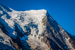 The Alps over Chamonix Stock Images