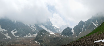 Alps panorama Royalty Free Stock Images