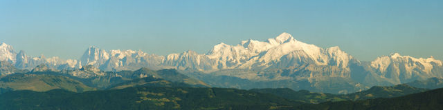 Alps panorama Stock Image