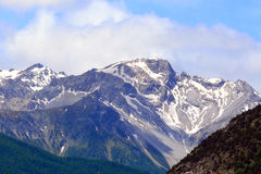 The Alps, Piedmont, Italy Royalty Free Stock Photo