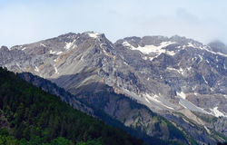 The Alps, Piedmont, Italy Stock Image