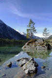Alps, ramsau-hintersee Royalty Free Stock Photography