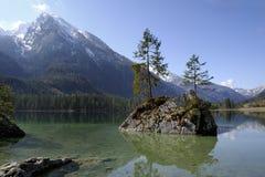 Alps, ramsau-hintersee Royalty Free Stock Photo