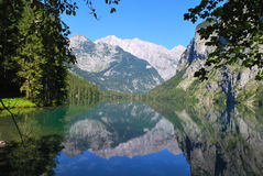 alps reflection Royalty Free Stock Image