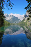 the alps reflection Royalty Free Stock Images