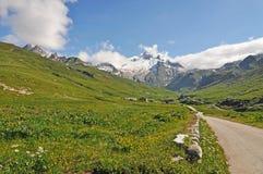 Alps, region of France, Italy, Switzerland Stock Images