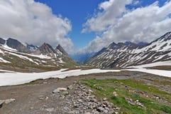 Alps, region of France, Italy, Switzerland Royalty Free Stock Photos