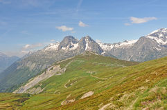 Alps, region of France, Italy, Switzerland Royalty Free Stock Images