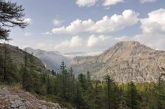 Alps, region of France, Italy, Switzerland Stock Photo