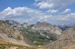 Alps, region of France, Italy, Switzerland Royalty Free Stock Photography