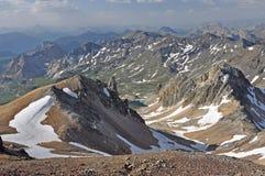 Alps, region of France, Italy, Switzerland Royalty Free Stock Photo