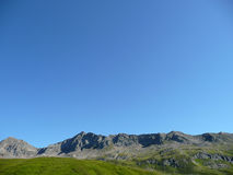 Alps: ridge to the blue sky Royalty Free Stock Photos