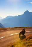 Alps road Royalty Free Stock Photos