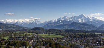 The Alps at Salzburg Royalty Free Stock Images
