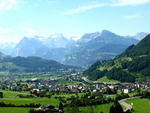 Alps Schwyz Switzerland Royalty Free Stock Photography