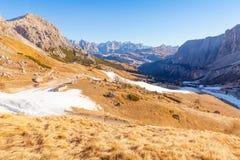 Alps Siusi Włochy Obraz Royalty Free