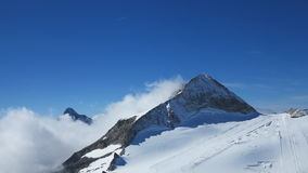 The Alps and ski Industry Stock Photo