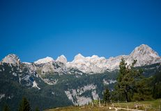 Alps in slovenia Stock Photography