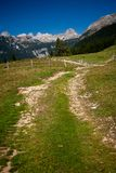 Alps in slovenia Royalty Free Stock Photo
