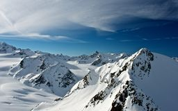 Alps in Soelden Royalty Free Stock Image