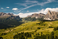 Alps , South Of Tyrol, Italy Royalty Free Stock Photo