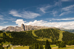 Alps , South Of Tyrol, Italy Stock Image