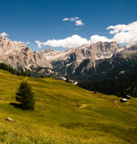 Alps , South Of Tyrol, Italy Royalty Free Stock Photos
