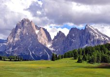 Alps on summer, Dolomites Royalty Free Stock Photography