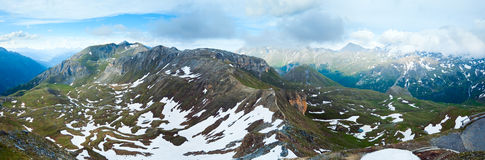 Alps summer panorama (Austria). Stock Photos