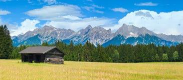 Alps summer panorama (Austria). Stock Photography
