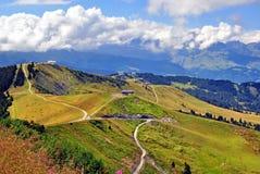 Alps on summer Stock Photo