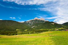 Alps summer view Stock Image