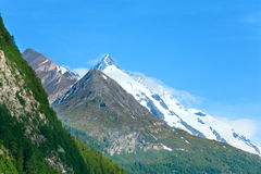 Alps summer view Royalty Free Stock Photography