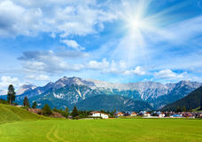 Alps summer view Stock Images