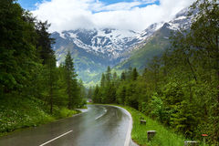 Alps summer view Royalty Free Stock Image