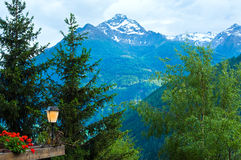 Alps summer view Stock Photo