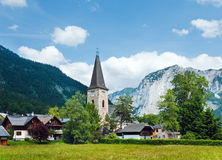 Alps summer view Royalty Free Stock Images