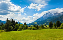 Alps summer view Stock Photos