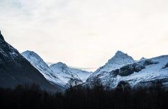 Alps Sunnmøre Fotografia Stock