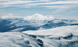 The Alps of Sunnmøre. In Norway Stock Photos