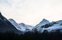 The Alps of Sunnmøre Stock Photography