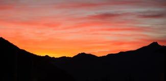 Alps Sunset Stock Photos