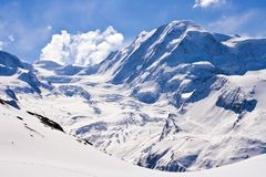 Alps in Switzerland Royalty Free Stock Images