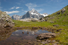 Alps in Switzerland Stock Photos