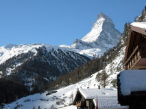 Swiss Alps Matterhorn Stock Image