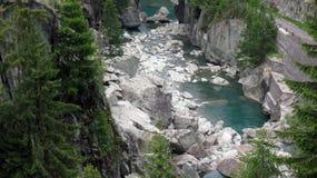 Alps Swizerland Kanton Grisons szwajcarzy obraz royalty free
