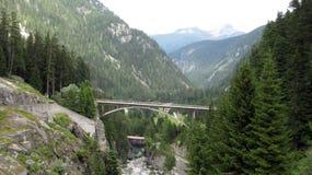 Alps Swizerland Kanton Grisons szwajcarzy obrazy stock