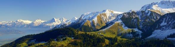 alps szwajcarscy Zdjęcie Stock
