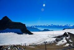 Alps szwajcarski Krajobraz Obrazy Stock